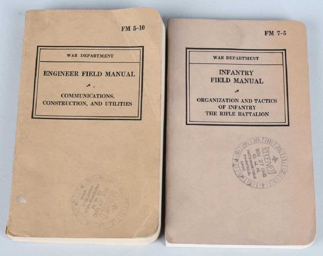 WWII U.S. MILITARY TECHNICAL & FIELD MANUAL LOT 17 - 7