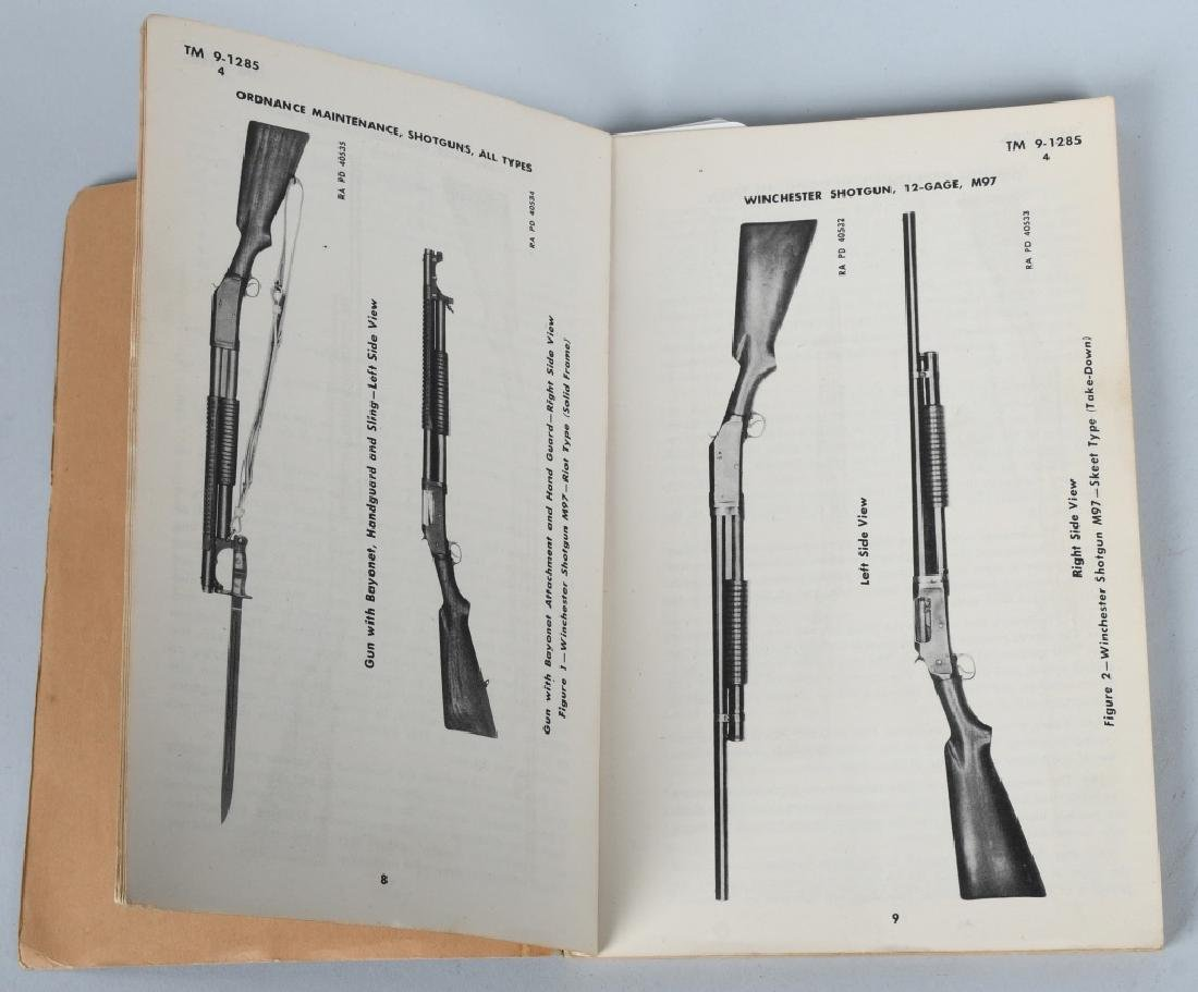 WWII US WAR DEPT MANUALS - SHOTGUNS & BAR RIFLES - 2