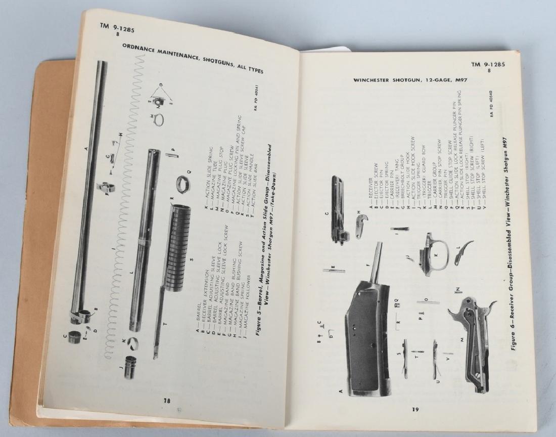 WWII US WAR DEPT MANUALS - SHOTGUNS & BAR RIFLES - 3