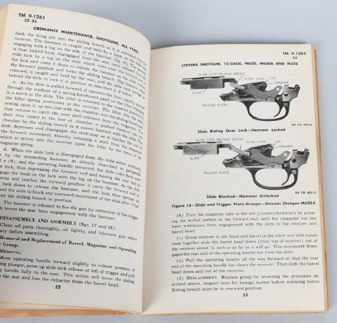 WWII US WAR DEPT MANUALS - SHOTGUNS & BAR RIFLES - 4