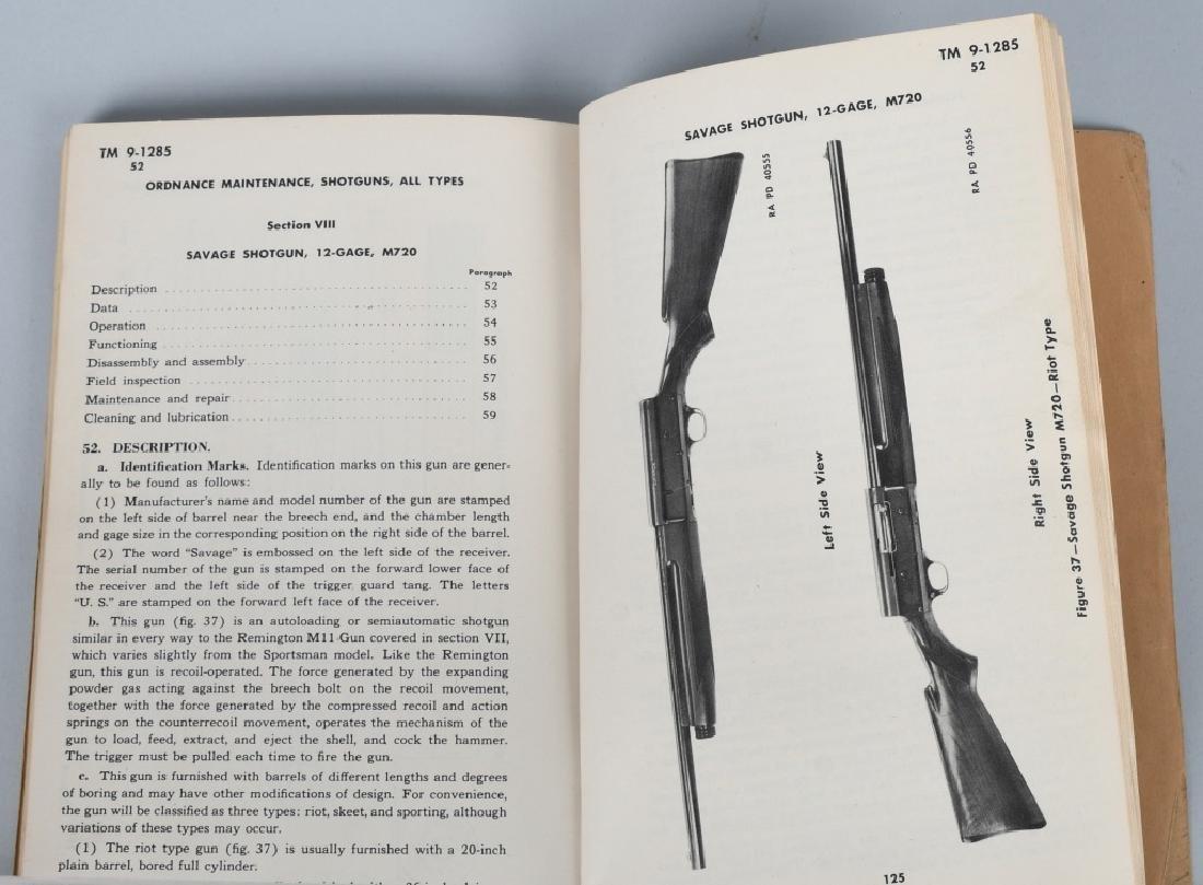 WWII US WAR DEPT MANUALS - SHOTGUNS & BAR RIFLES - 5