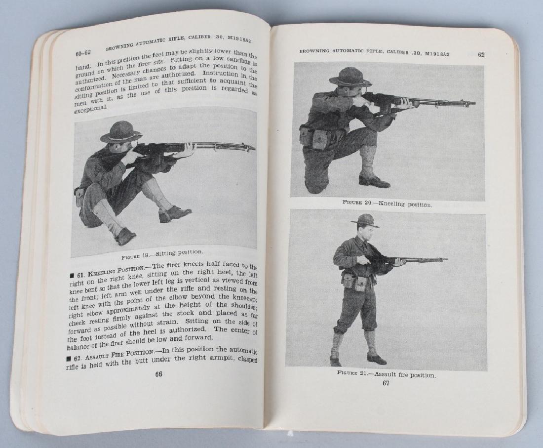 WWII US WAR DEPT MANUALS - SHOTGUNS & BAR RIFLES - 8