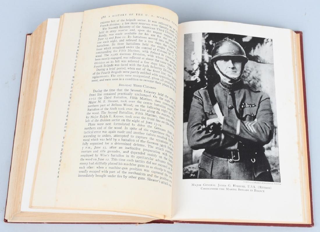WWII HISTORY USMC AUTOGRAPHED TO USMCWR - 7