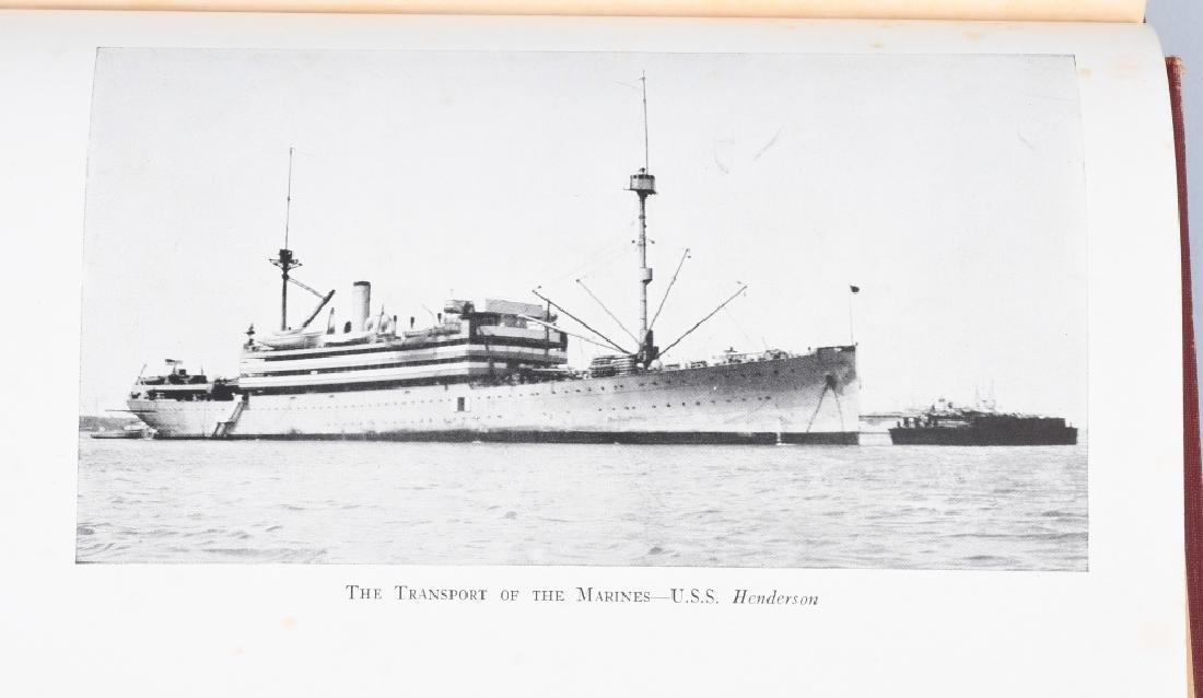 WWII HISTORY USMC AUTOGRAPHED TO USMCWR - 8