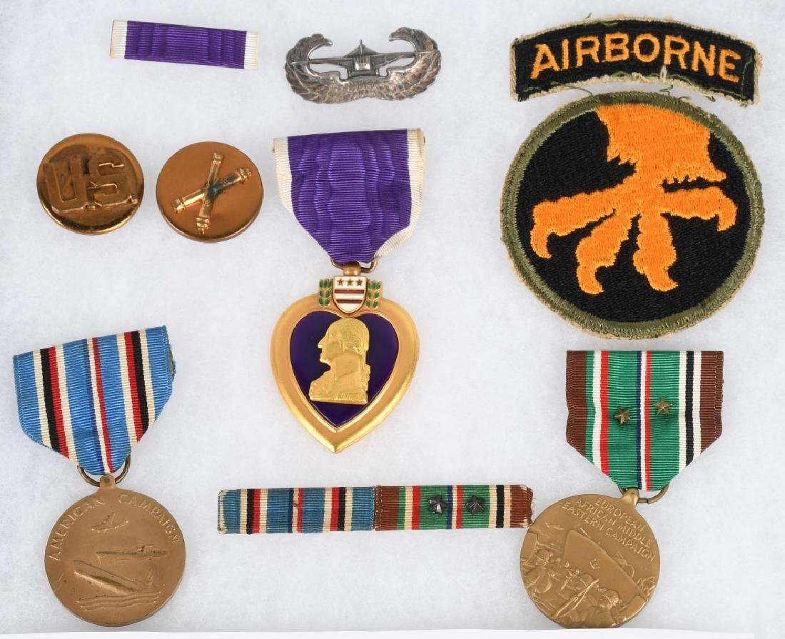WWII U.S. 17TH AIRBORNE PURLPE HEART KIA - 2