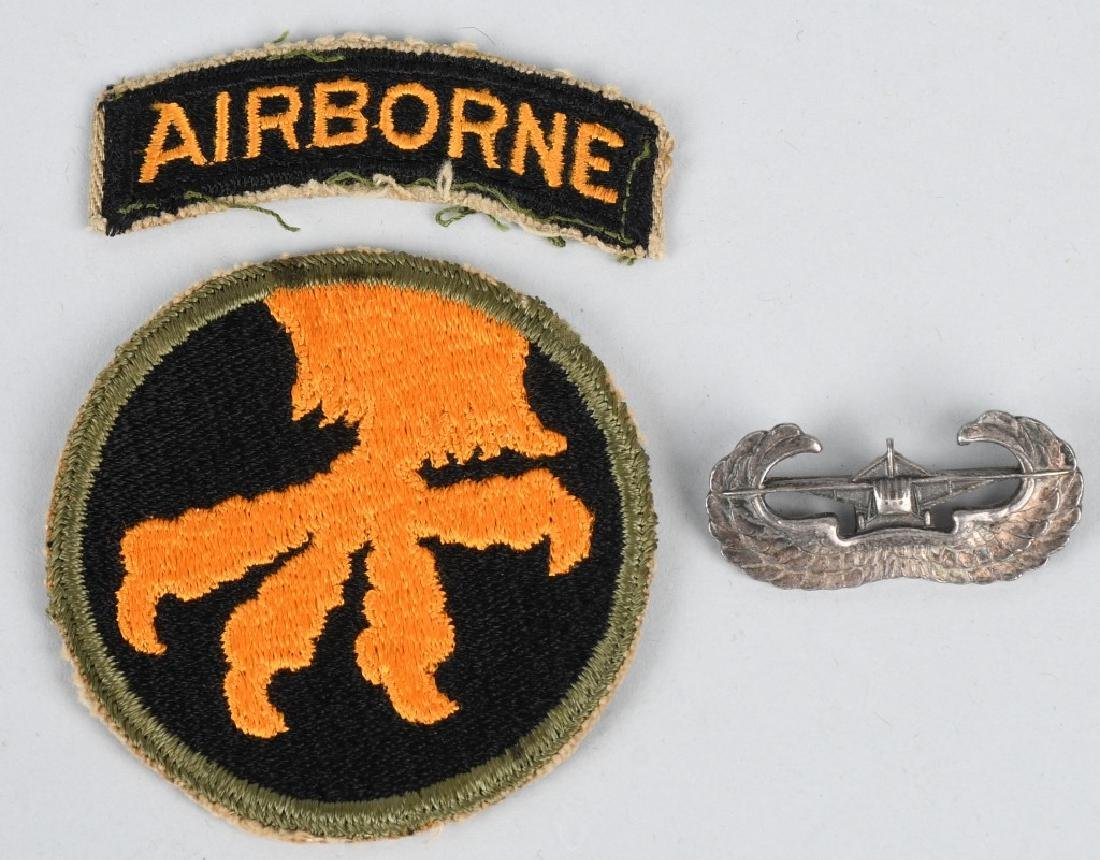 WWII U.S. 17TH AIRBORNE PURLPE HEART KIA - 5