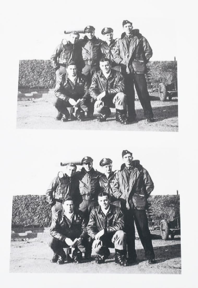WWII US 8TH AAF IDED FIGHTER PILOT GROUP - 13