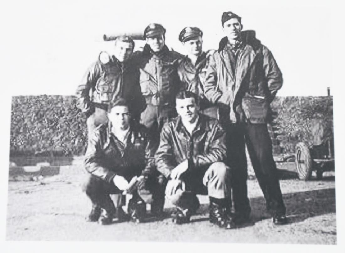 WWII US 8TH AAF IDED FIGHTER PILOT GROUP - 14