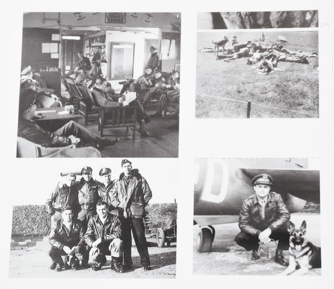 WWII US 8TH AAF IDED FIGHTER PILOT GROUP - 15