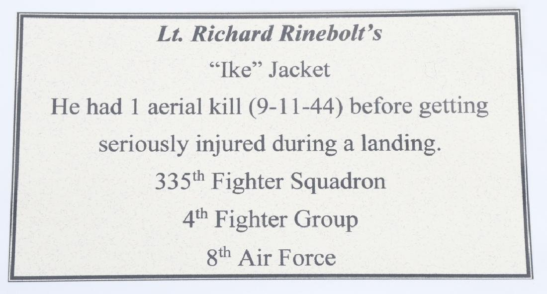 WWII US 8TH AAF IDED FIGHTER PILOT GROUP - 8