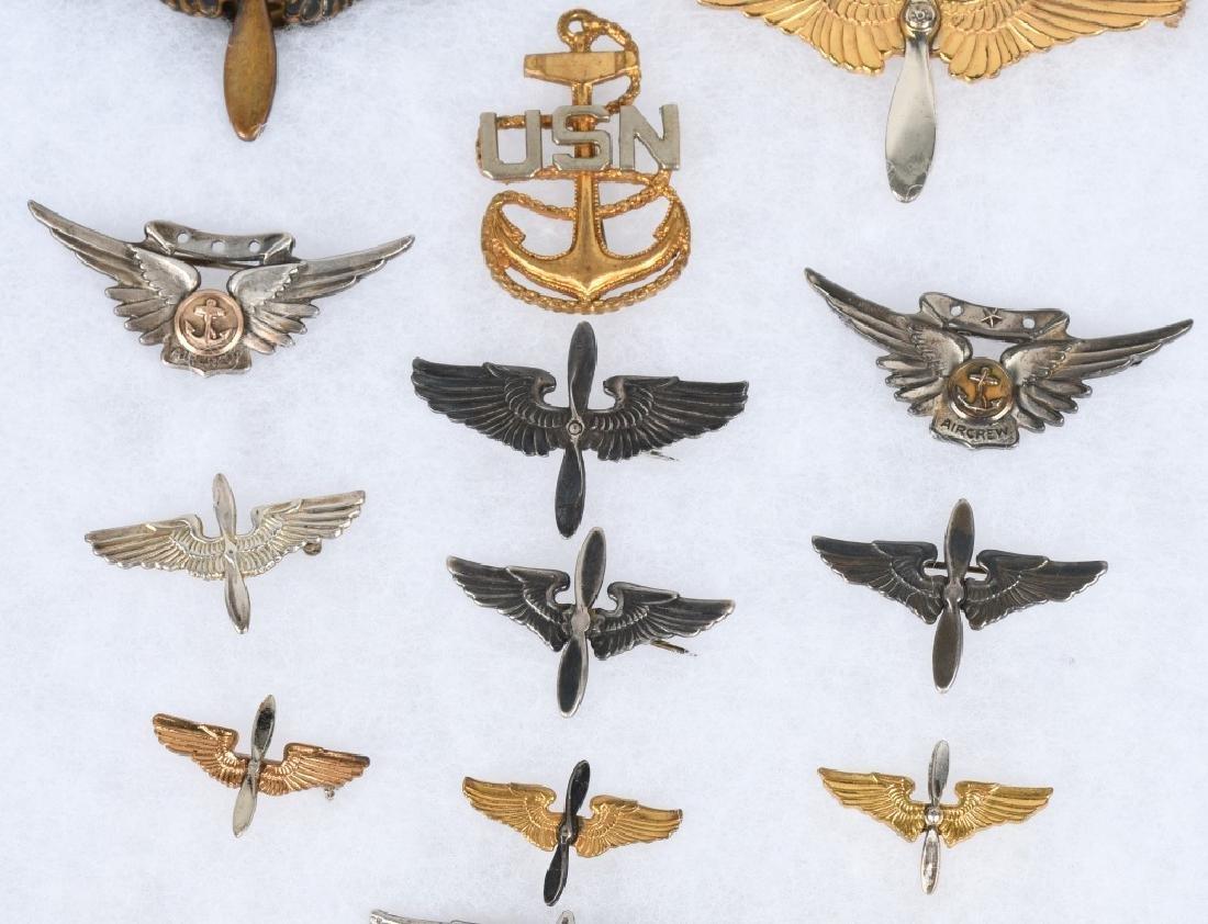 WWII & POST AAF & NAVY - MARINE AVIATION INSIGNIA - 3