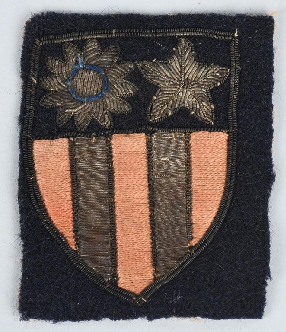 WWII U.S. CBI THEATER MADE PATCH LOT (4) - 2
