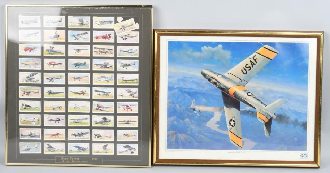 WWII BRITISH PLAYERS CIGARETTE CARDS & HARRY COPIC
