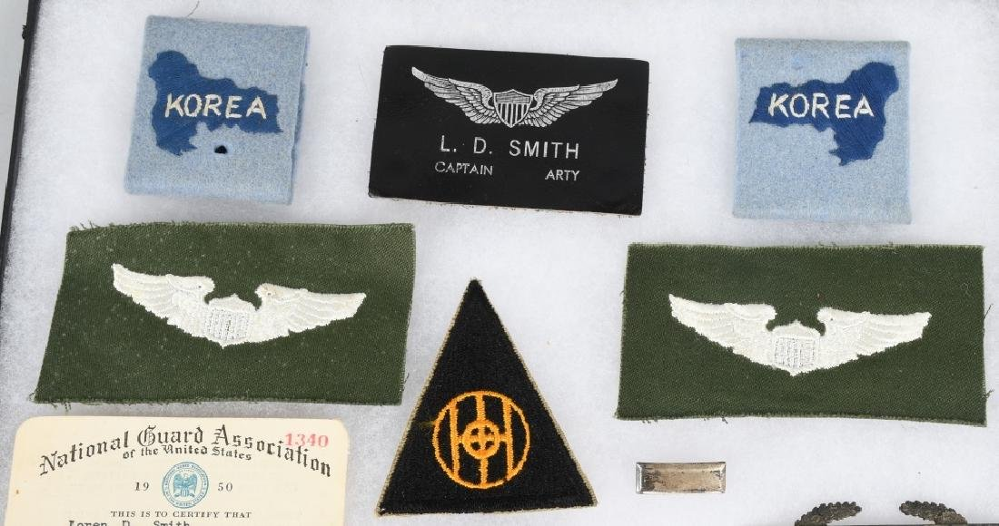 KOREAN WAR IDED GROUP PATCHES AF POICE BADGE ETC - 2