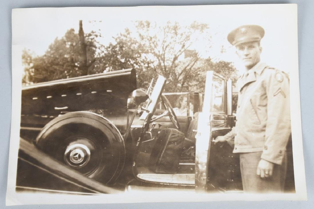 WWII - KOREA 2 LARGE BINDERS - PHOTOS & EPHEMERA - 5