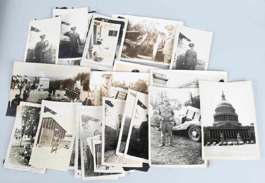 WWII - KOREA 2 LARGE BINDERS - PHOTOS & EPHEMERA - 6