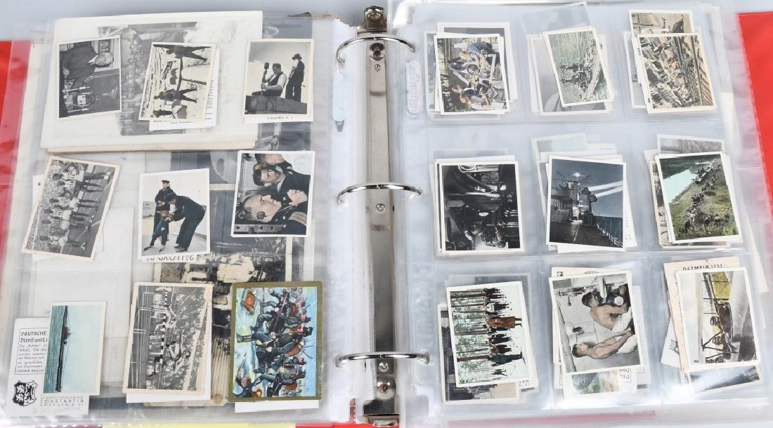 WWII - KOREA 2 LARGE BINDERS - PHOTOS & EPHEMERA - 7