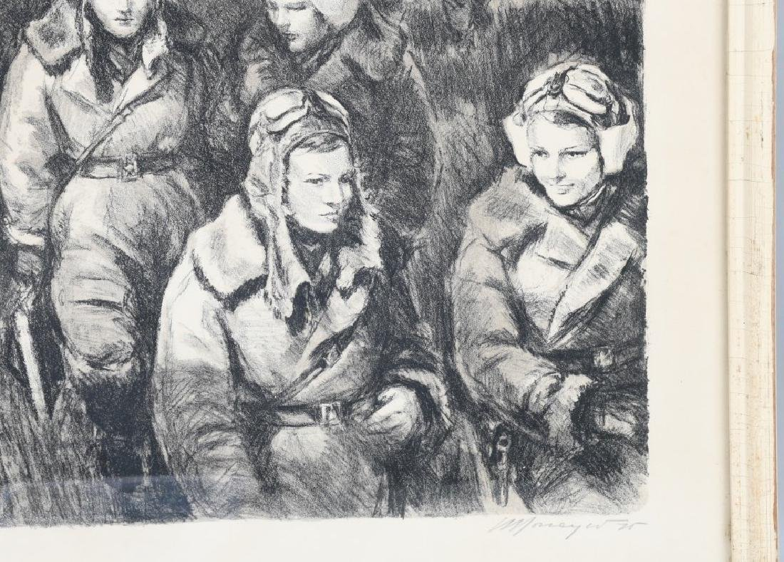 """WWII PRINT RUSSIAN FEMALE PILOTS """"NIGHT WITCHES"""" - 3"""