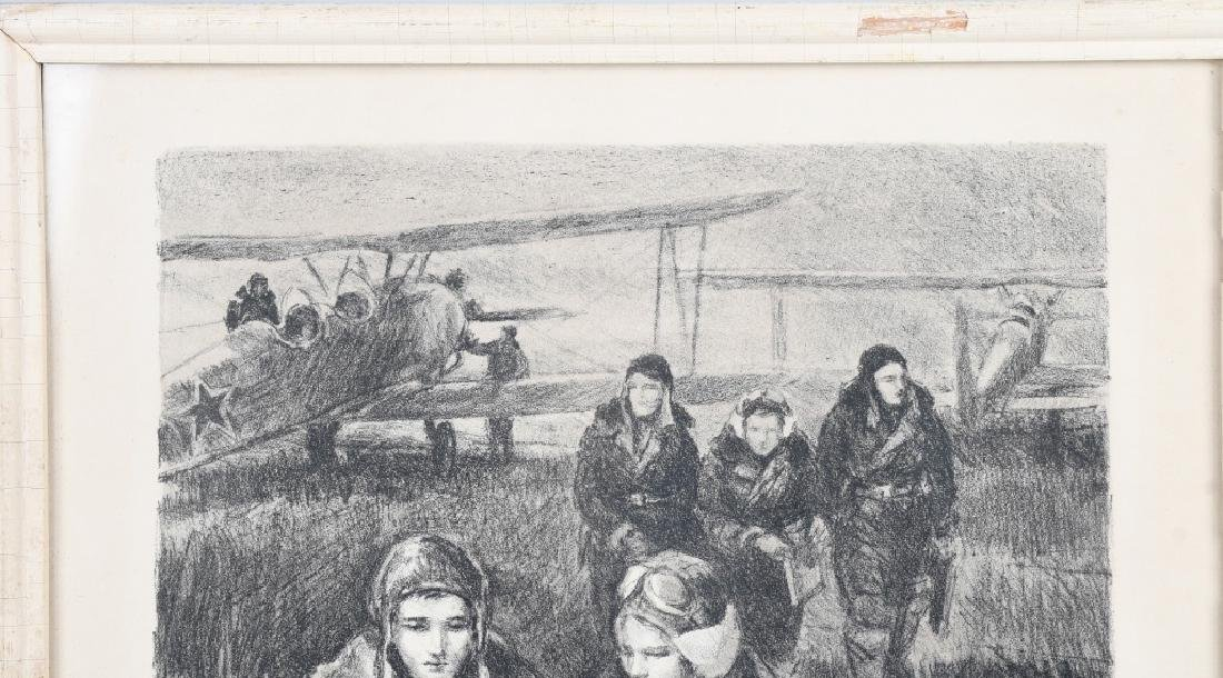 """WWII PRINT RUSSIAN FEMALE PILOTS """"NIGHT WITCHES"""" - 5"""
