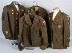 WWII US ARMY PACIFIC THEATER UNIFORM LOT 4