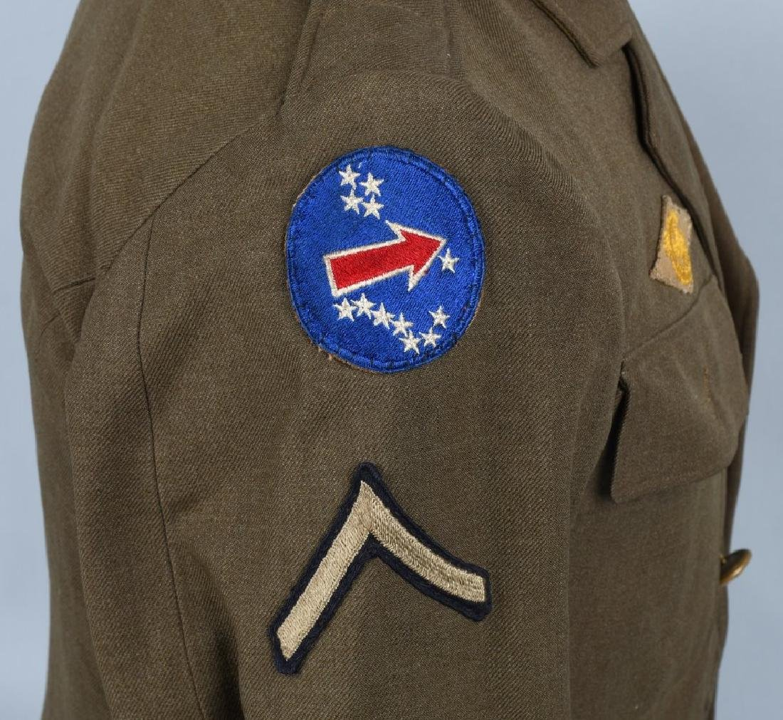 WWII U.S. ARMY PACIFIC THEATER UNIFORM LOT (4) - 5
