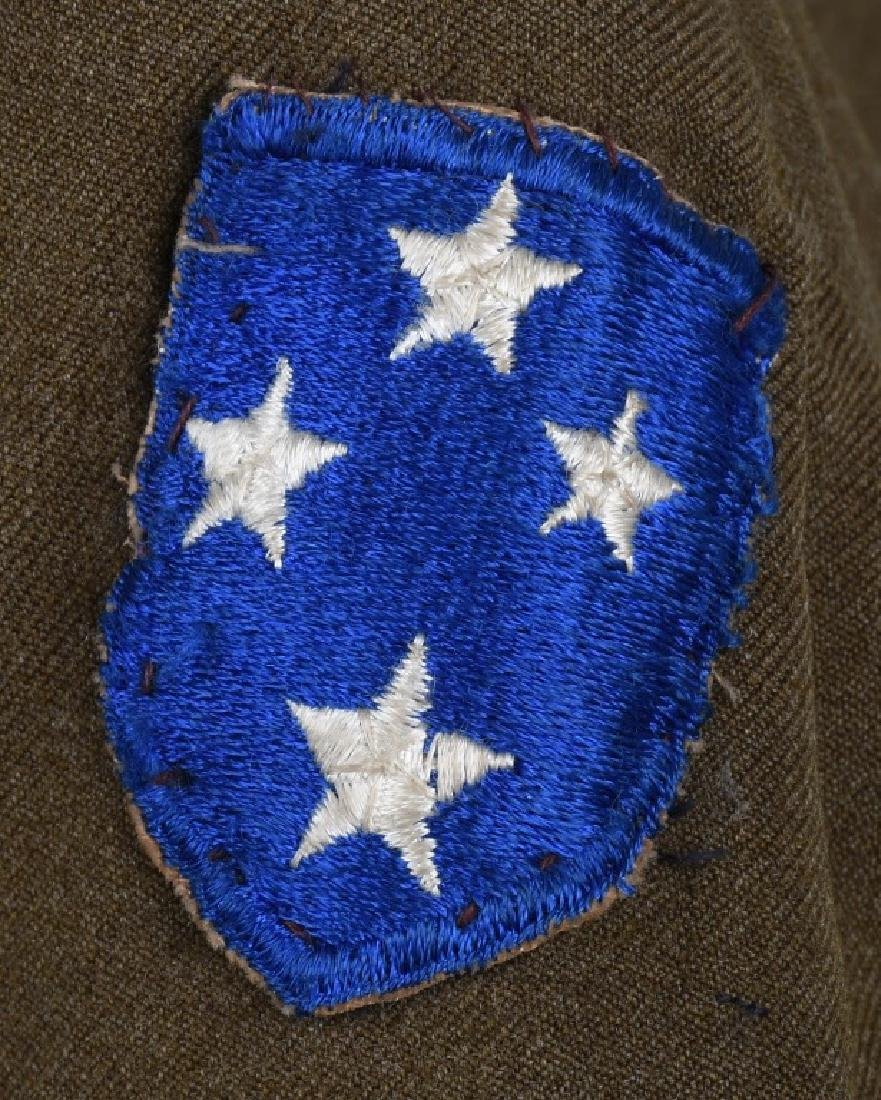 WWII U.S. ARMY PACIFIC THEATER UNIFORM LOT (4) - 9