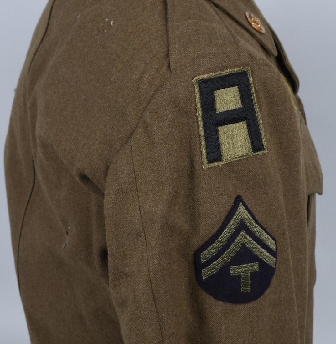 WWII U.S. ARMY EUROPEAN THEATER UNIFROM LOT (4) - 5
