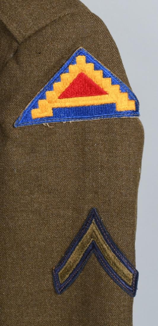 WWII U.S. ARMY EUROPEAN THEATER UNIFROM LOT (4) - 8