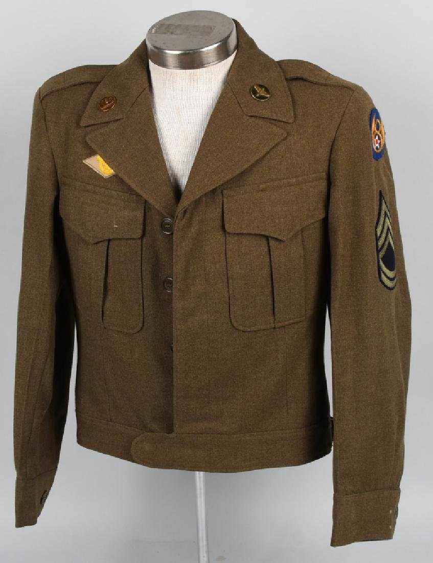 WWII U.S. ARMY EUROPEAN THEATER UNIFROM LOT (4) - 9