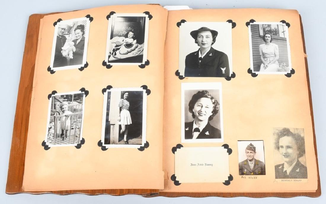 WWII U.S. NAVY WAVE PHOTO ALBUM - SCRAPBOOK - 2