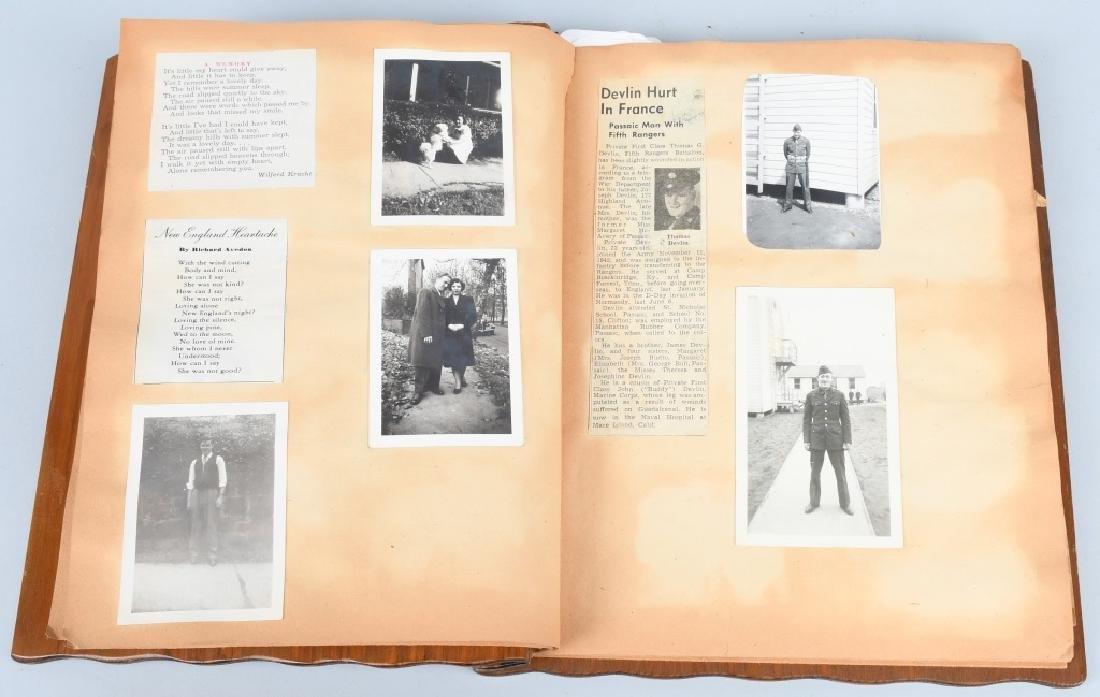 WWII U.S. NAVY WAVE PHOTO ALBUM - SCRAPBOOK - 4