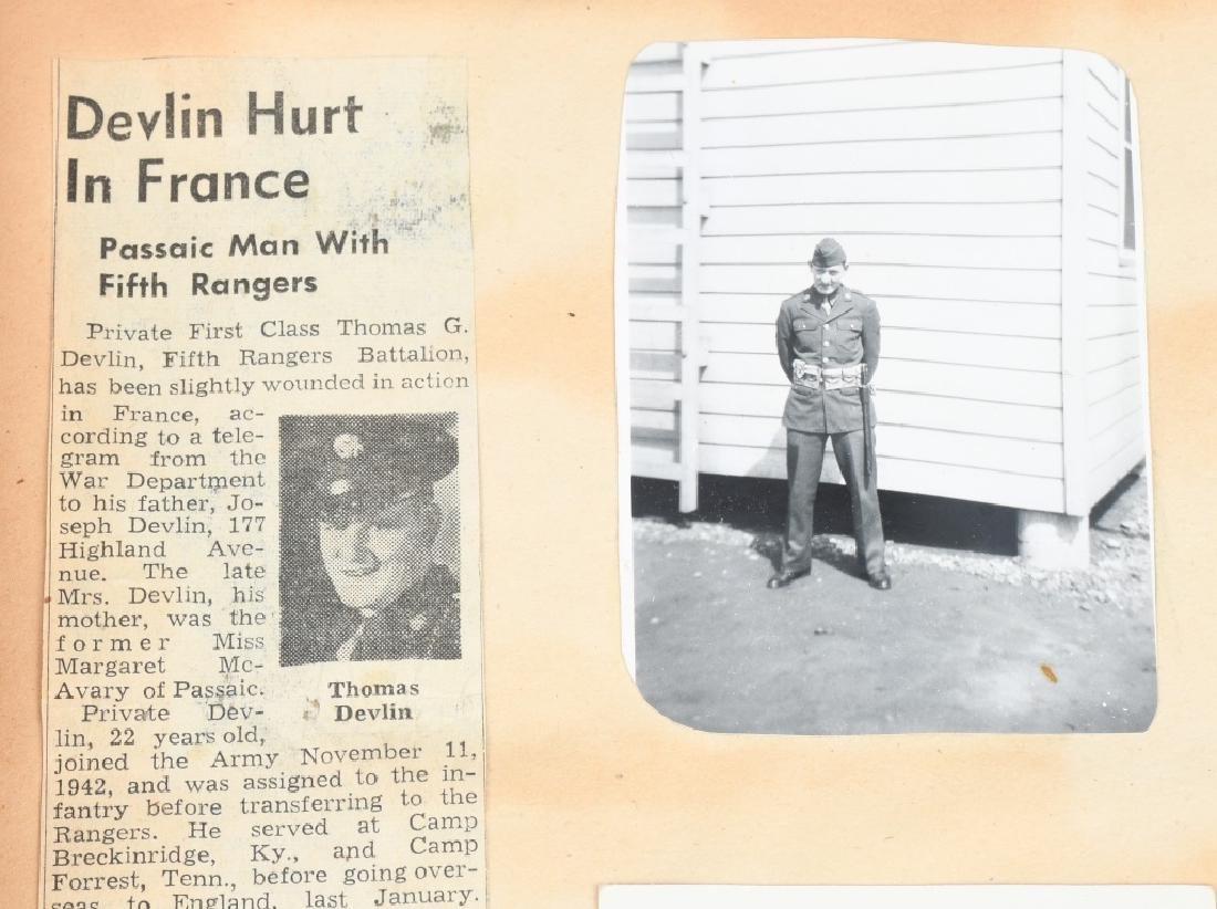 WWII U.S. NAVY WAVE PHOTO ALBUM - SCRAPBOOK - 5