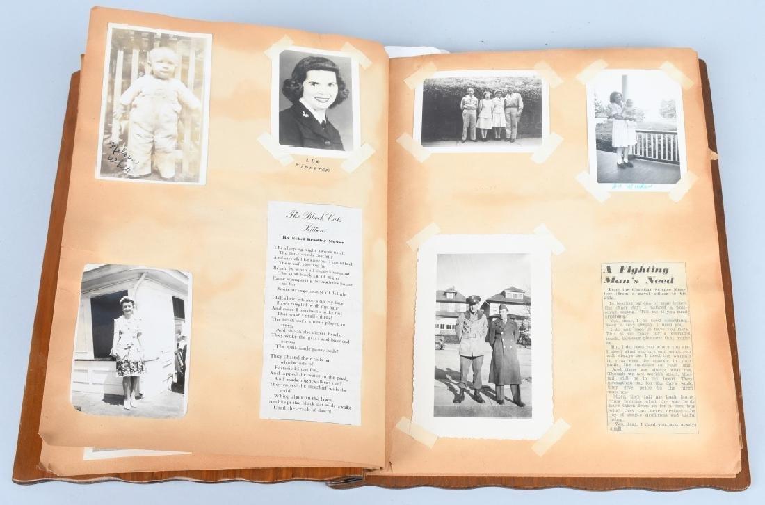 WWII U.S. NAVY WAVE PHOTO ALBUM - SCRAPBOOK - 7