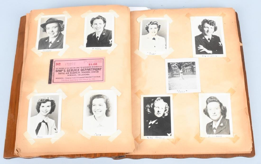 WWII U.S. NAVY WAVE PHOTO ALBUM - SCRAPBOOK - 8