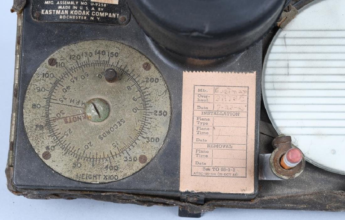 WWII U.S. ARMY AIR FORCE B-5 DRIFT METER - 3