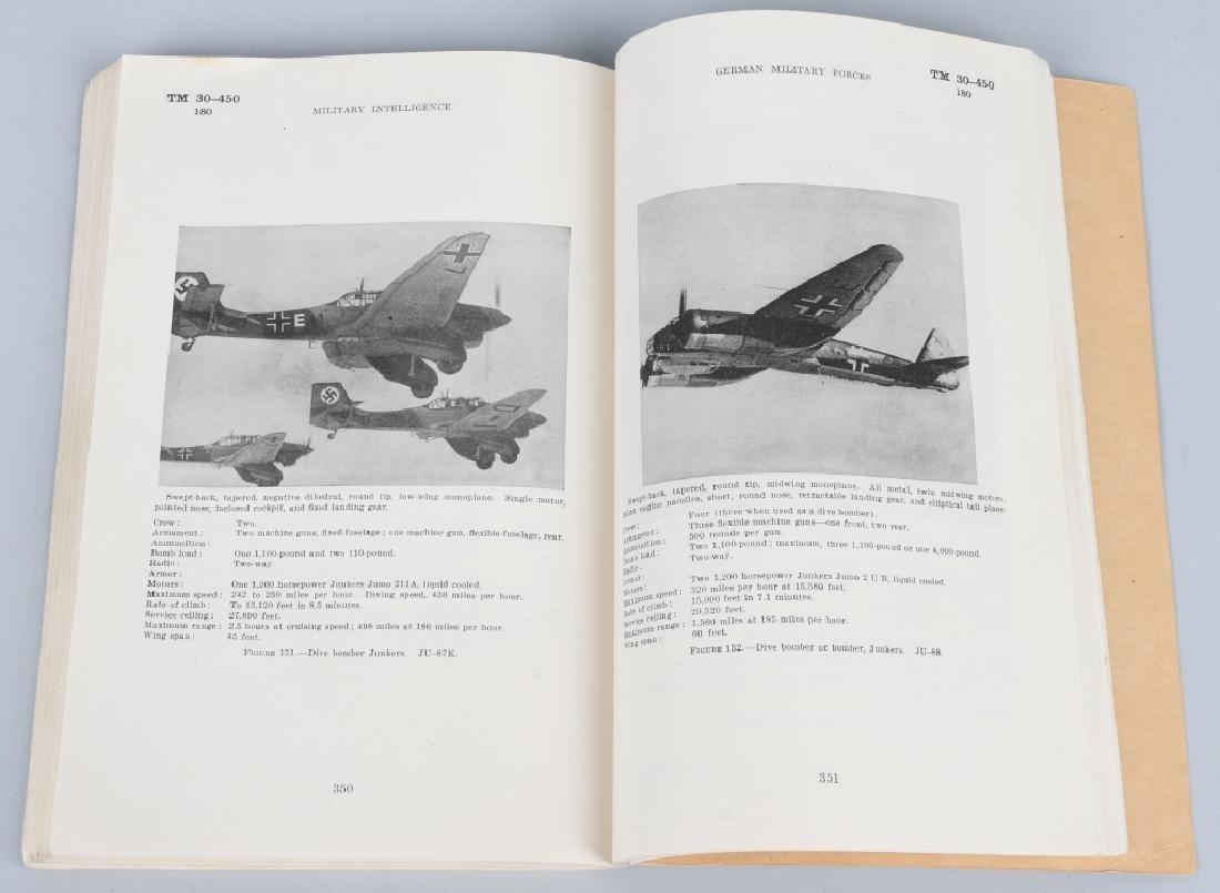 WWII US 1941 TECH MANUAL GERMAN MILITARY TM 30-450 - 5