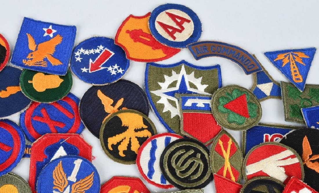 WWII U.S. ARMY AND A.A.F. PATCH LOT (75) - 3