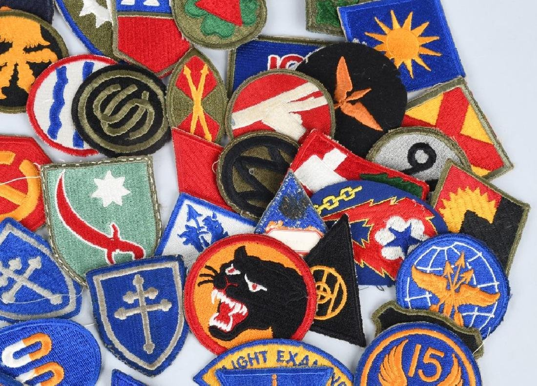WWII U.S. ARMY AND A.A.F. PATCH LOT (75) - 4
