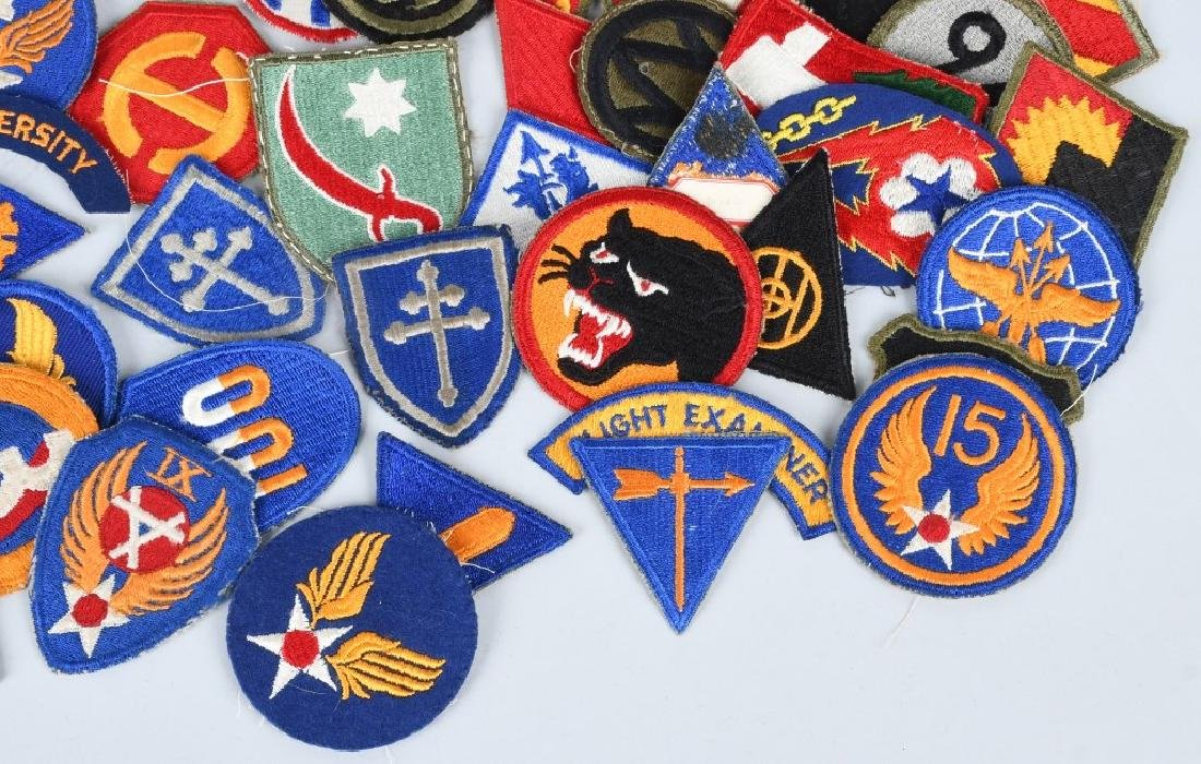 WWII U.S. ARMY AND A.A.F. PATCH LOT (75) - 5
