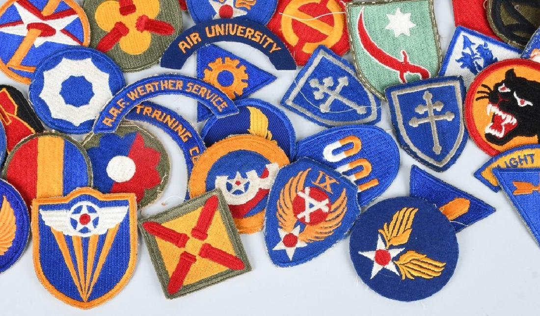 WWII U.S. ARMY AND A.A.F. PATCH LOT (75) - 6