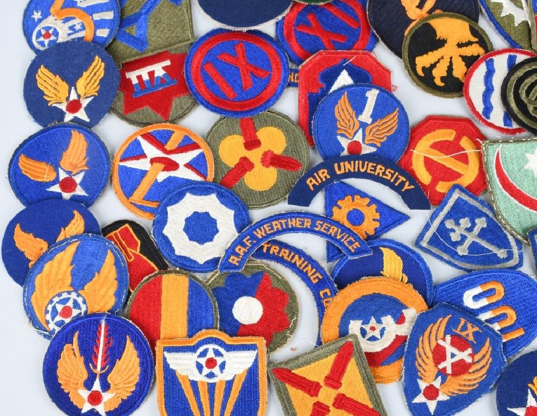 WWII U.S. ARMY AND A.A.F. PATCH LOT (75) - 7