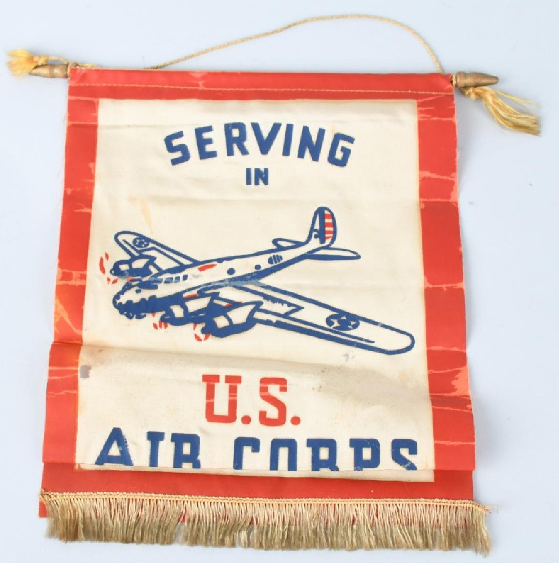 WWII U.S. ARMY AIR FORCE AAC GROUP WINGS, DIS FLAG - 4