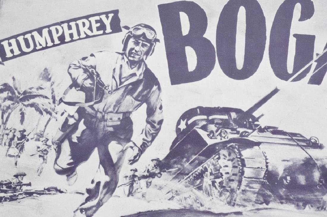 WWII JOHN WAYNE & H. BOGART MOVIE THEATER PLACARDS - 6