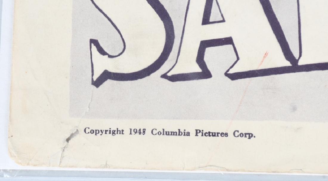 WWII JOHN WAYNE & H. BOGART MOVIE THEATER PLACARDS - 7