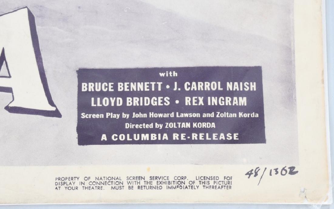WWII JOHN WAYNE & H. BOGART MOVIE THEATER PLACARDS - 8