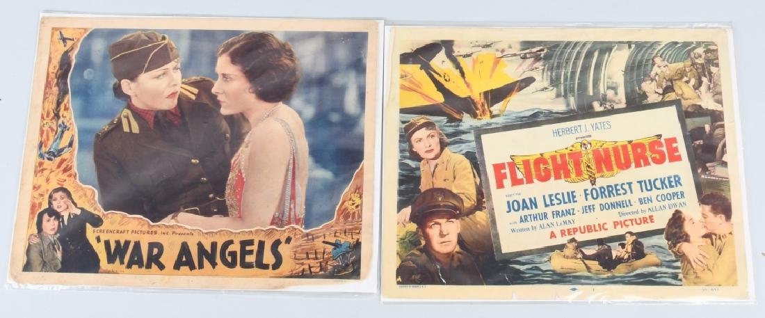 WWII FLIGHT NURSE & WAR ANGELS THEATER PLACARDS