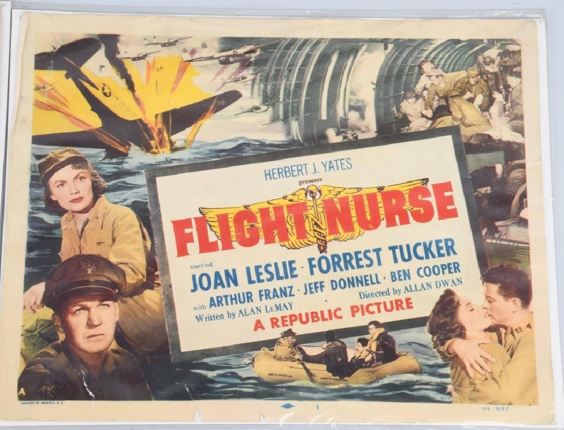 WWII FLIGHT NURSE & WAR ANGELS THEATER PLACARDS - 2