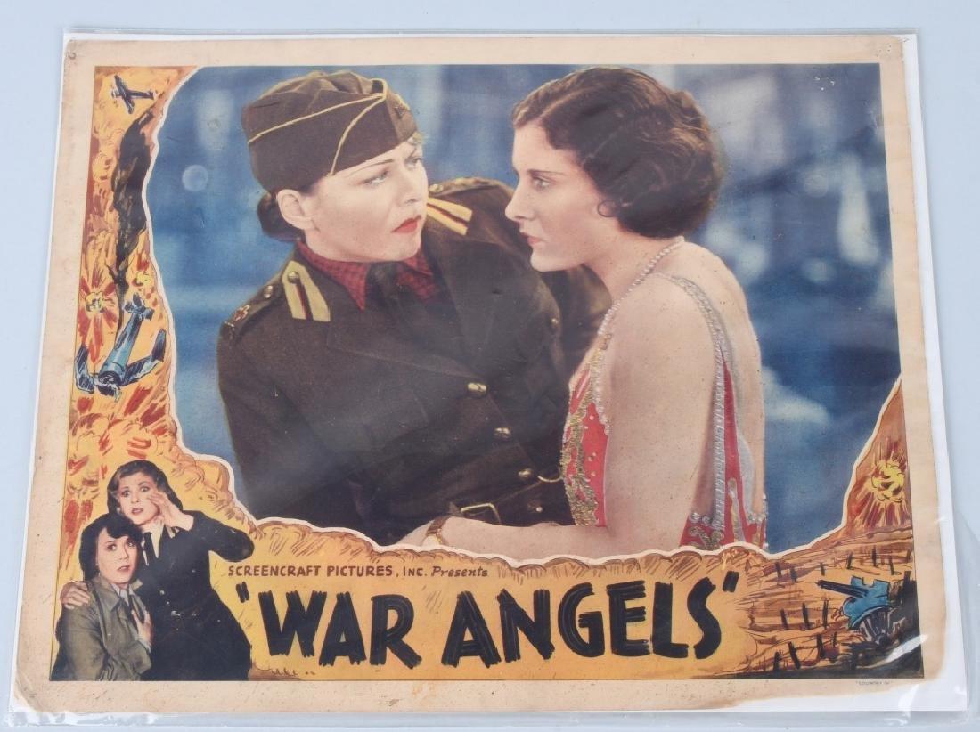 WWII FLIGHT NURSE & WAR ANGELS THEATER PLACARDS - 4