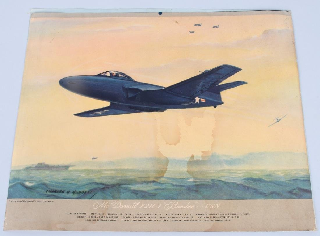 CHARLES HUBBELL AVIATION PRINTS THOMSPON PRODUCTS - 10