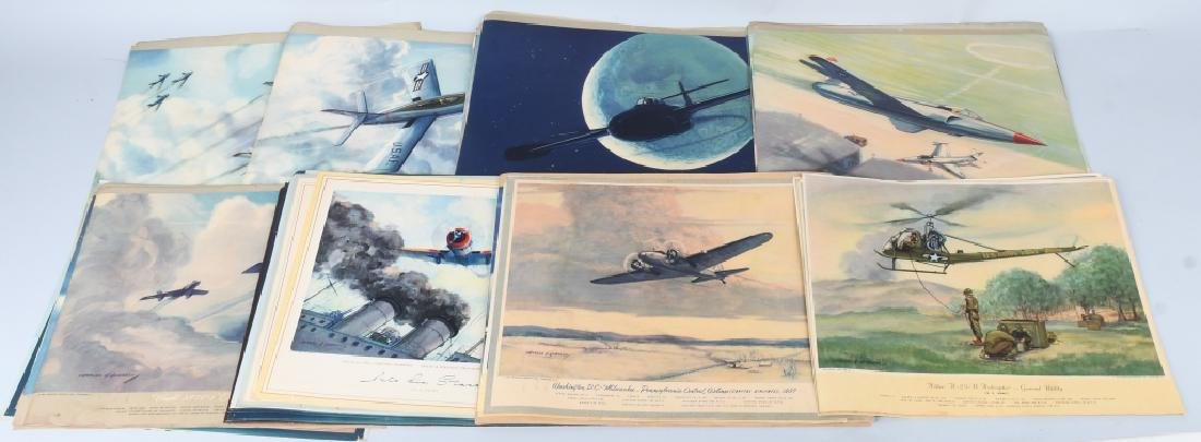 CHARLES HUBBELL AVIATION PRINTS THOMSPON PRODUCTS